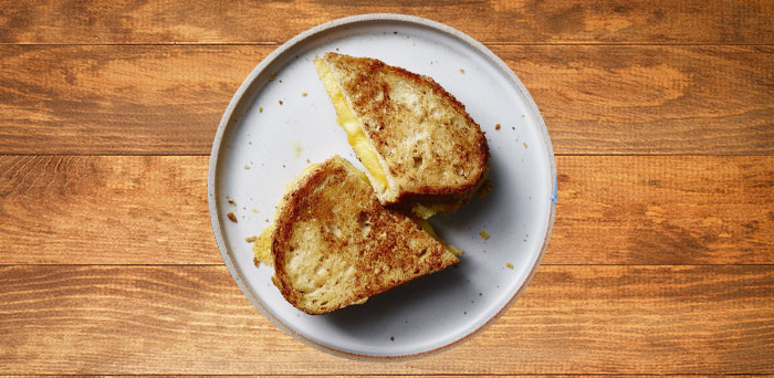 Hellmann's® y Best Foods®: Perfectly Crispy Grilled Cheese Strangewich